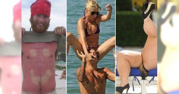 Największe plażowe wpadki! Ktoś zapamięta ten urlop na długo...