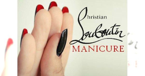 Manicure a'la buty Christiana Louboutina! Instrukcja krok po kroku