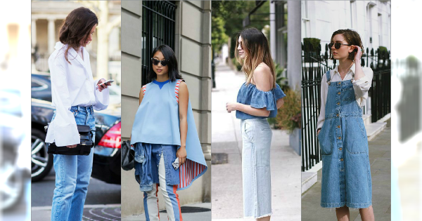 Czarujące stylizacje z jeansem - Przedstawiamy najmodniejsze outfity na lato 2015