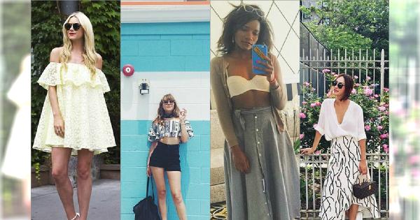 Wybieramy najładniejsze letni stylizacje z Instagram - Wybierz idealny dla siebie look!