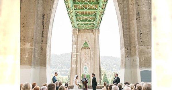 15 niesamowitych miejsc na ślub. Oryginalne i zapierające dech w piersiach alternatywy dla kościoła