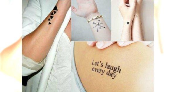 Małe Tatuaże Nowoczesne Wzory Dla Modnych Dziewczyn