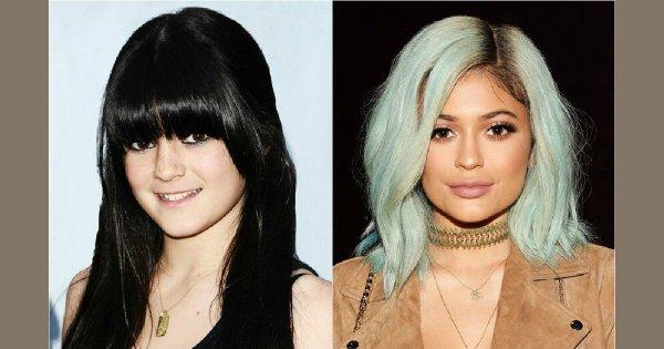 Transformacja Kylie Jenner - Zobacz, jak bardzo zmieniła się nastoletnia celebrytka w ciągu ostatnich 6 lat