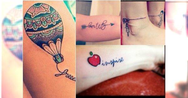 Wesołe Tatuaże Dla Dziewczyn 25 Super Wzorów Jak Z Kreskówki