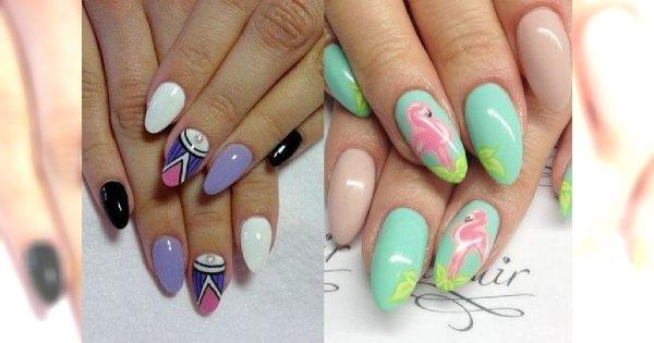Te wzorki manicure sprawią, że się uśmiechniesz [GALERIA]