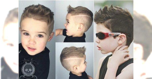 Fryzury Dla Chłopców Super Propozycje Dla Twojego Małego Mężczyzny