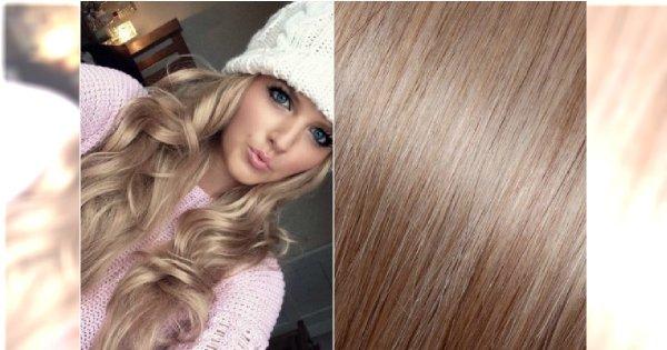 Szampański Blond Modny Odcień Włos 243 W Dla Wielbicielek