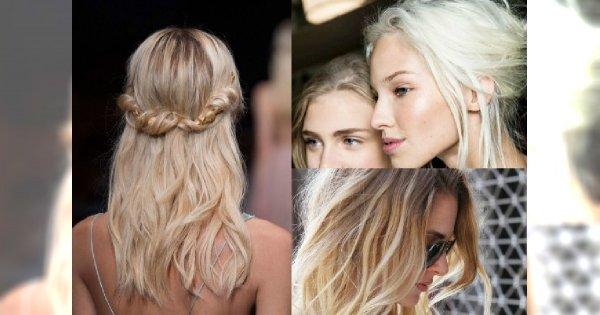 Najgorętsze blondy sezonu jesień zima 2015/2016 - Ash blond, Icy Platinum, Maple Blond. Zobacz galerię najpiękniejszych koloryzacji