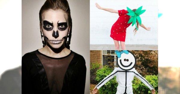 20 pomysłów na halloween'owe przebrania z poczuciem humoru, które zajmą Wam 5 minut!