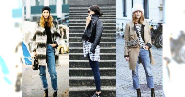 Jeansy + botki to przepis na idealną stylizację! Zobacz TOP outfity sezonu jesień 2015