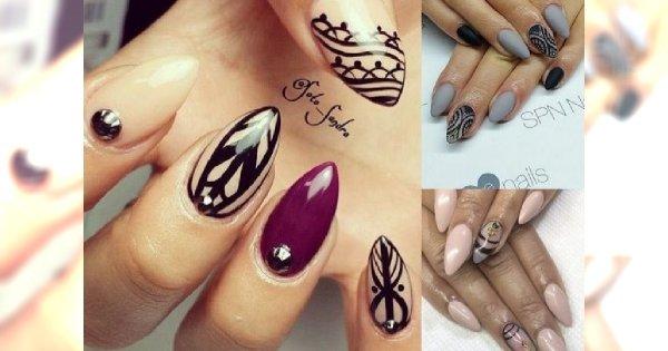 Nowinki manicure - modne, stylowe wzorki na każdą okazję