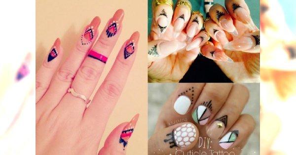 Tatuaże Wokół Paznokci Robią Furorę Na Instagramie Zobacz