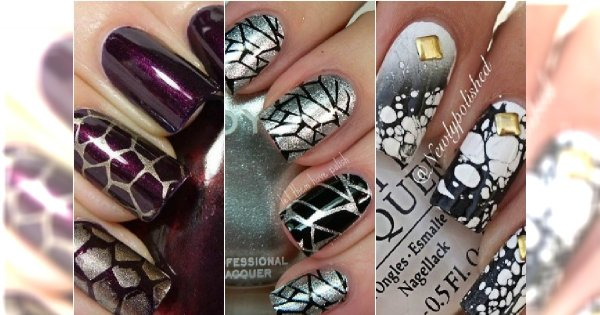 Crackle - pękjące lakiery do paznokci. Podsuwamy pomysły na super wzorki!