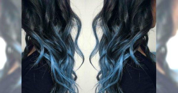 Hot trend w koloryzacji włosów 2016: petrol blue