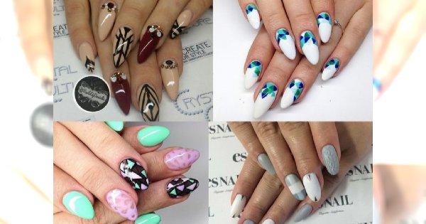 HOT! Modne, stylowe, kobiece odsłony manicure - ponad 20 inspiracji!