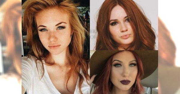 Magnetyczne makijaże dla posiadaczek rudych włosów - Trendy 2016