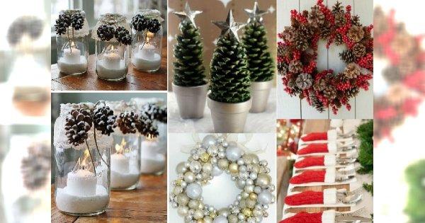 Diy Pomysłowe Dekoracje Na Boże Narodzenie