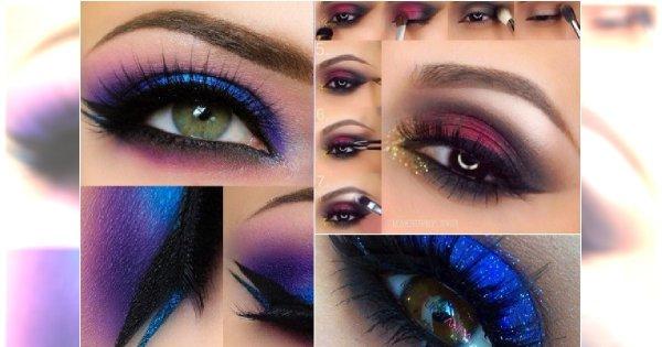 20 Pomysłów Na Kolorowy Makijaż Oczu Na Sylwestra