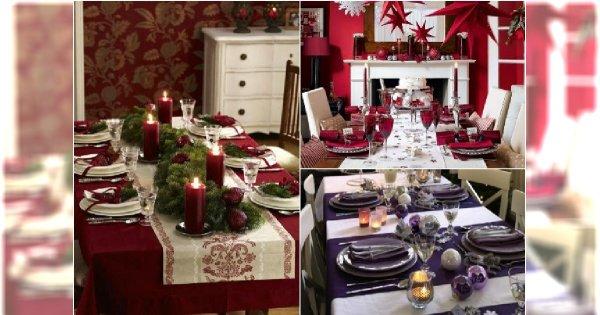 Jak Udekorować Stół Na święta Bożego Narodzenia 15