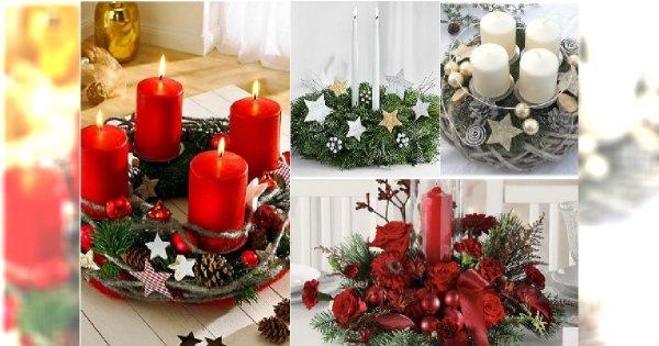 Śliczne stroiki świąteczne na Boże Narodzenie. 30 super pomysłów na stylową dekorację