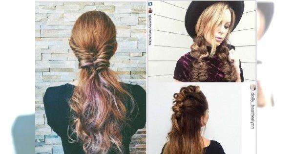 Poważne Najpiękniejsze plecione fryzury z Instagram. Sięgnij po najnowsze QD34