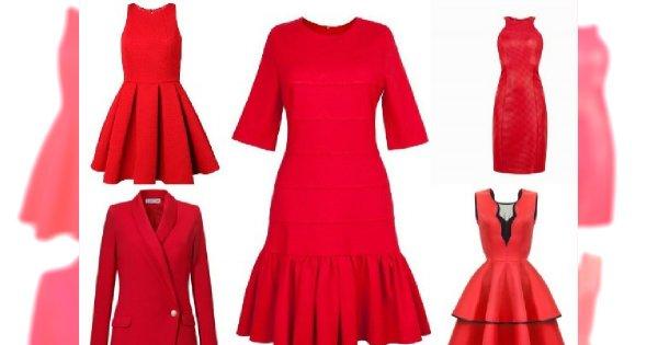 582247b3e8 Czerwone sukienki nie tylko na Walentynki - Przegląd najmodniejszych  propozycji z sklepów