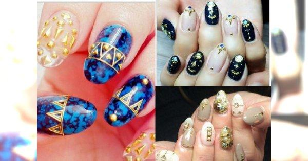 Manicure z ornamentami - Bogato zdobione paznokcie hitem tego sezonu!