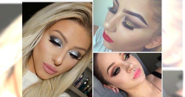 MEGA galeria brokatowych makijaży na 2016 - Garść inspiracji na karnawałowy look
