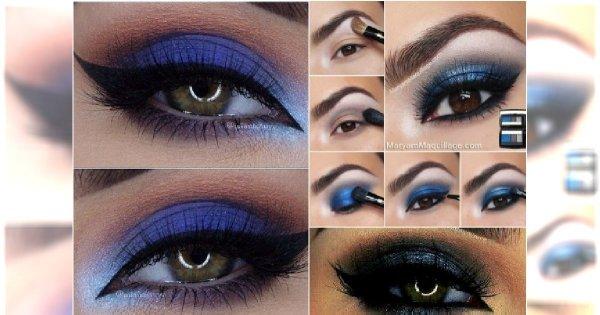 Niebieski Makijaż Oczu W Najpiękniejszym Wydaniu 20 Niezwykłych