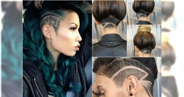 Wzorki na włosach - zdobimy modnie tył i boki
