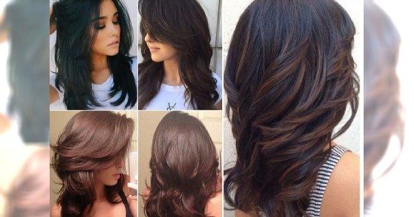 Super Modne Cieniowane Fryzury Dla Długich I Półdługich Włosów