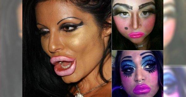 O BOŻE! 60 najgorszych makijaży wszech czasów