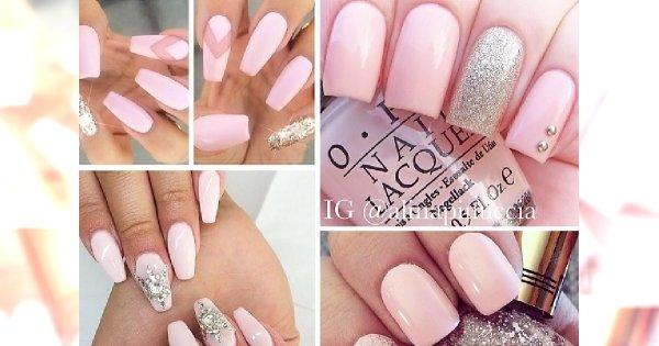 Baby Pink Nails Uroczy Pudrowy Róż Na Waszych Paznokciach