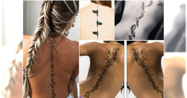 Tatuaż Na Kręgosłupie Zniewalające Wzory Dla Takiego