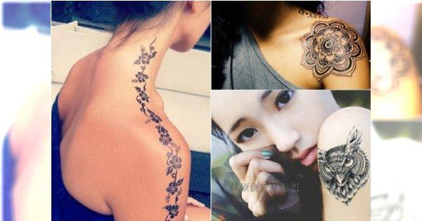 Tatuaż Na Ramieniu 30 Wzorów Którym Się Nie Oprzecie