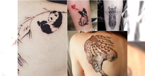 Tatuaże Ze Zwierzętami Super Wzory Dla Dziewczyn