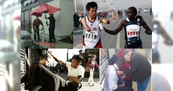 Zobacz te wzruszające zdjęcia, które przywrócą twoją wiarę w ludzkość!