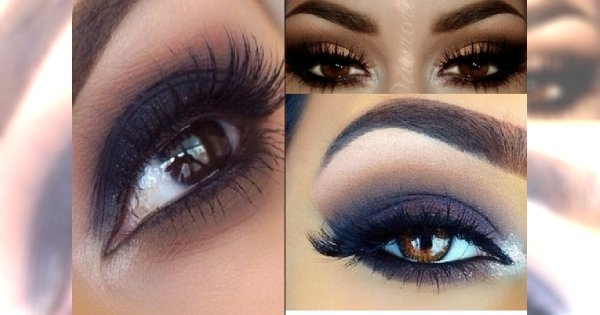 Hot Wieczorowy Makijaż Dla Posiadaczek Brązowych Oczu