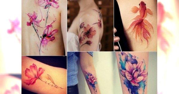 Watercolor Tattoo Czyli Akwarelowy Tatuaż