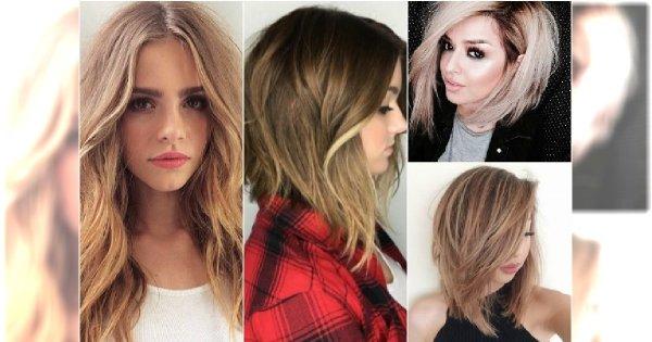 Cieniujemy średnie I Długie Włosy Te Fryzury Będą Hitem