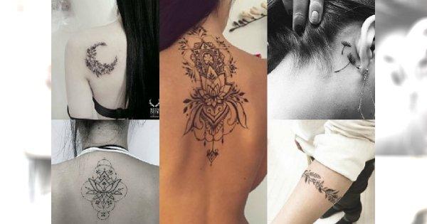 Czarno Białe Tatuaże Które Cię Zauroczą Od Pierwszego