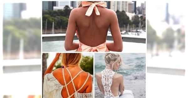 HIT na LATO: sexy sukienki odkrywające plecy!