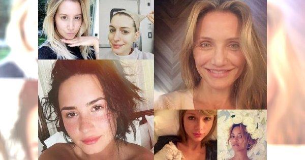 15 gwiazd, które pokazały się bez makijażu! Ładnie wyglądają?