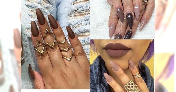 Kawowy manicure  - stonowane barwy, które uwielbiamy