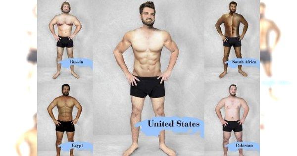 Uwierzycie, że TAK wygląda ideał męskiej sylwetki w 13 różnych krajach?! Chyba musimy zacząć bardziej doceniać naszych rodowitych Panów!