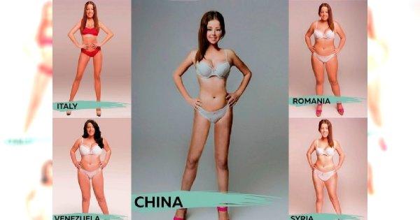 Będziesz zaskoczona, kiedy zobaczysz jak wygląda ideał kobiecej sylwetki w 17 różnych krajach! Przyznaj, że Polki są najpiękniejsze?!