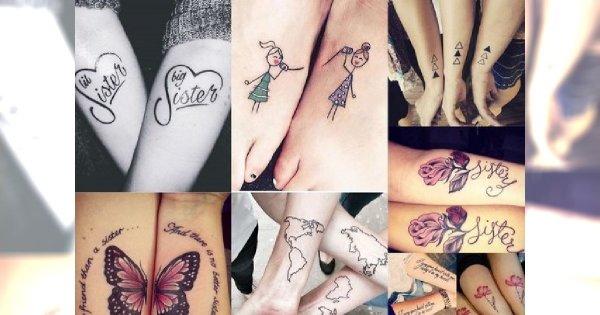 Hit Tatuażu Urocze I Dziewczęce Tatuaże Dla Sióstr I Przyjaciółek