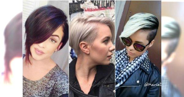 Krótkie Fryzury Asymetryczne Modne I Kobiece 20