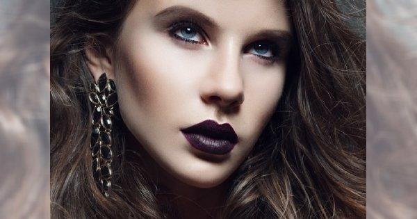 Makijaż W Stylu Modern Gothic Krok Po Kroku Z Golden Rose