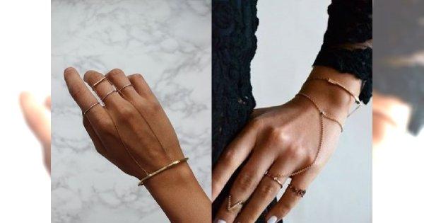HOT TREND: bransoletka z pierścionkiem! Galeria najpiękniejszych propozycji